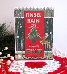 Christmas Card Tinsel