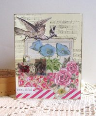 Note Card Spring Theme