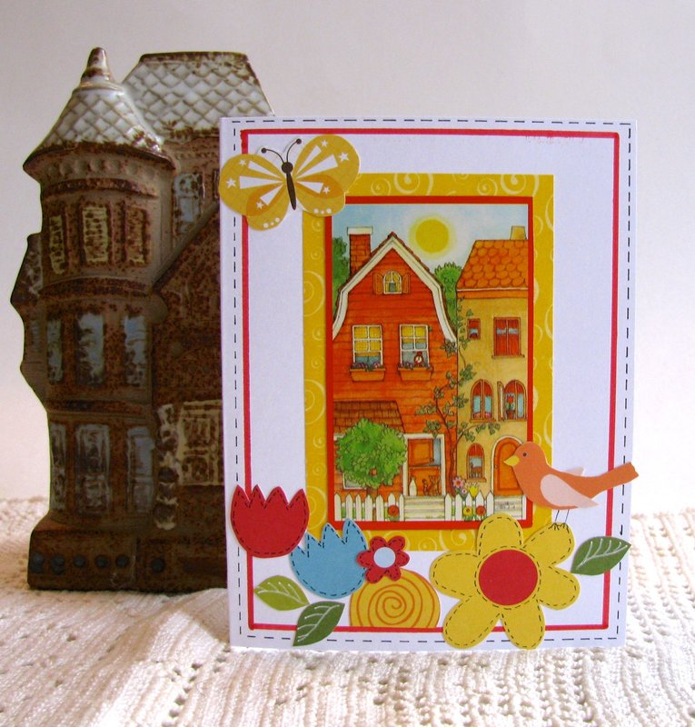 Note Card House Day