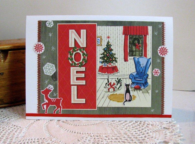 Christmas Card Noel