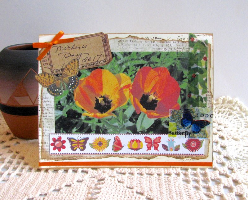 Mother's Day Card Tulips 2
