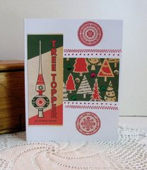 Christmas Card Tree Topper