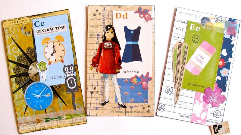 Alphabet Cards CDE