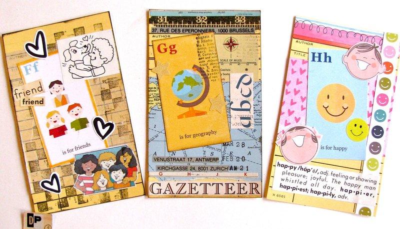 Alphabet Cards FGH