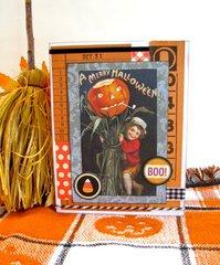 Halloween Card Boy with Jack