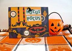 Halloween Card Hocus Pocus