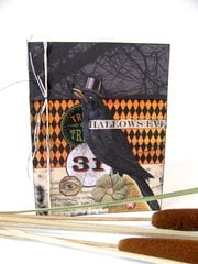 Halloween Crow Card