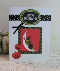 Halloween Card Witch