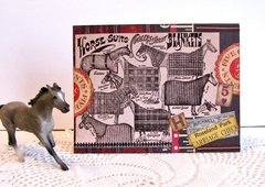 Note Card Horse Ad