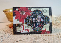 Christmas Card Stained Glass