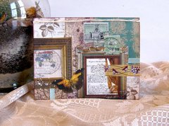 Note Card Vintage Maps