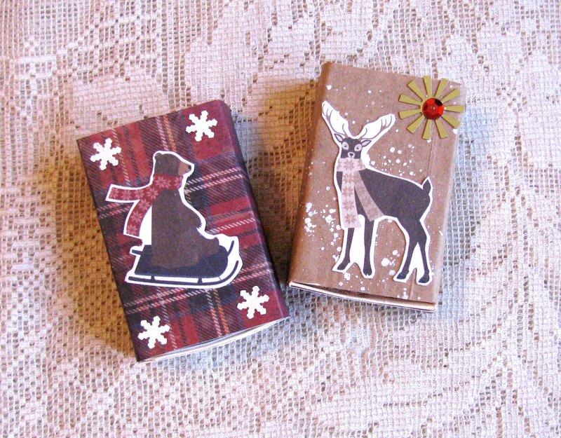Matchboxes Christmas Animals