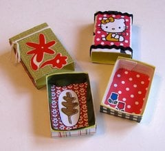 Matchboxes Flowers Hello Kitty Interiors