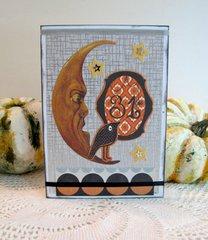 Halloween Card Moon