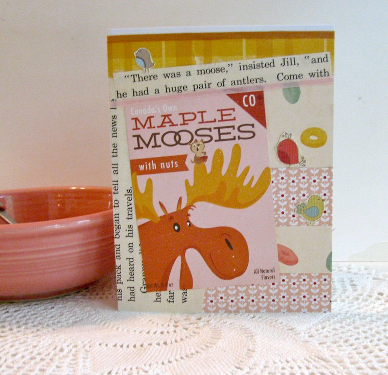 Note Card OA Moose Cereal