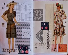 Journal Pages 1940s Dresses