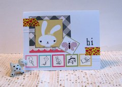 Note Card Rabbit