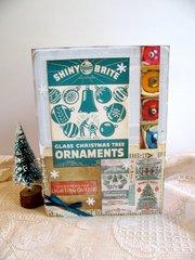Shiny Brite Christmas Card