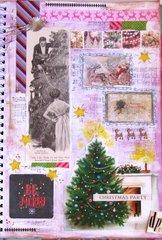 Smash Book Vintage Christmas