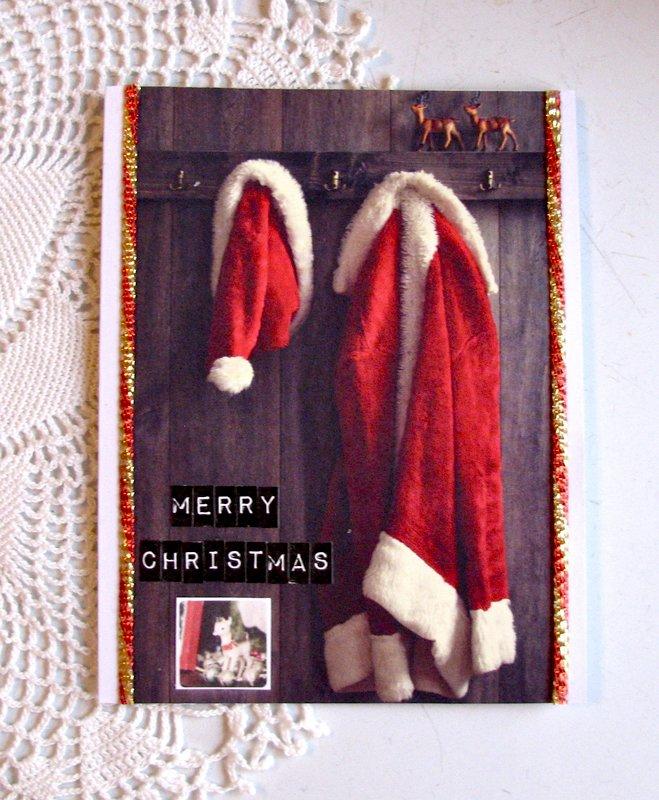 Christmas Card Santa Suit