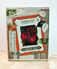 Note Card Tomato Seed Packet
