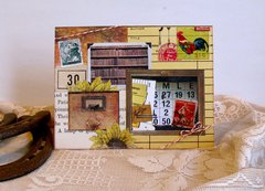 Note Card Frames Collage