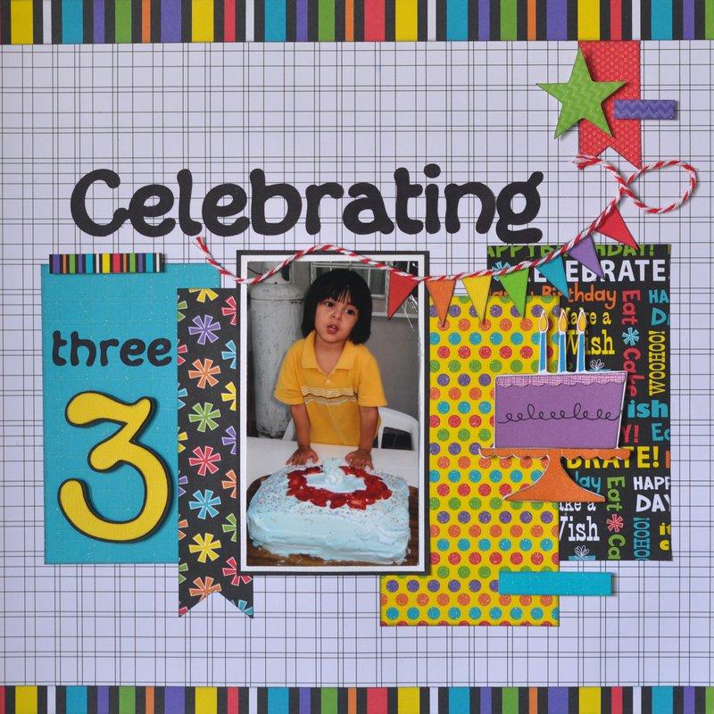 Celebrating three