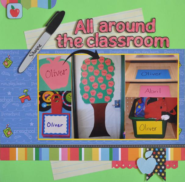 All around the classroom