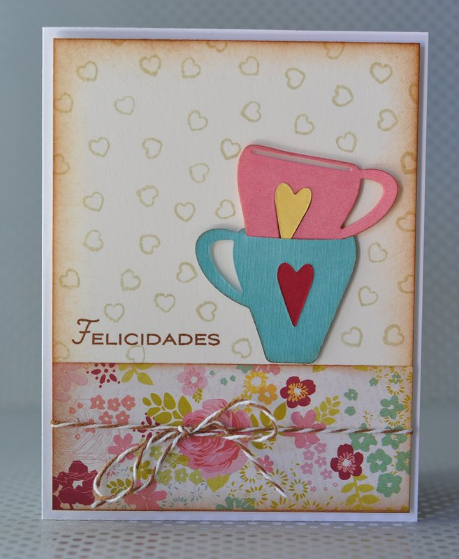 coffe cup Bridal Shower card