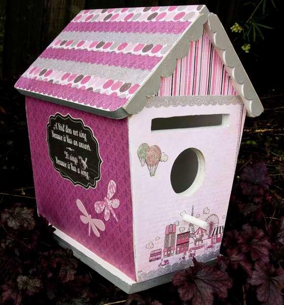 birdhouse letter box