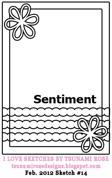 CARD SKETCHES BY TSUNAMI ROSE