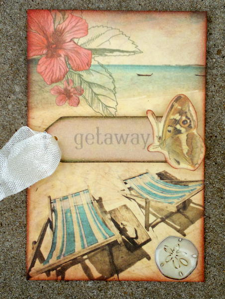 Getaway ATC - Aunty Vera Scrap and Craft