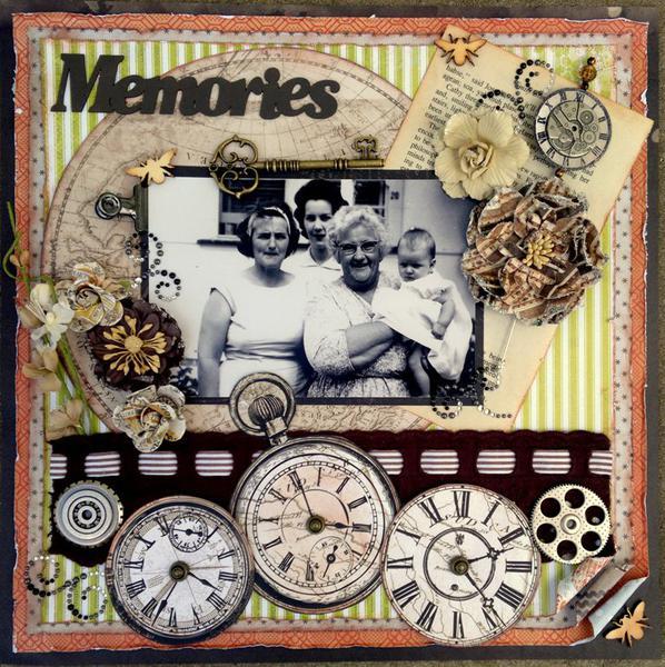 Memories in Time - Scraps of Darkness