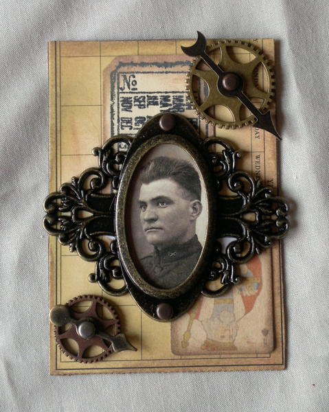 Army Man ATC - Scraps of Darkness