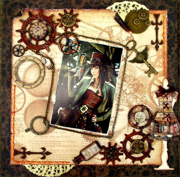 Steampunk Princess - Scraps Of Darkness