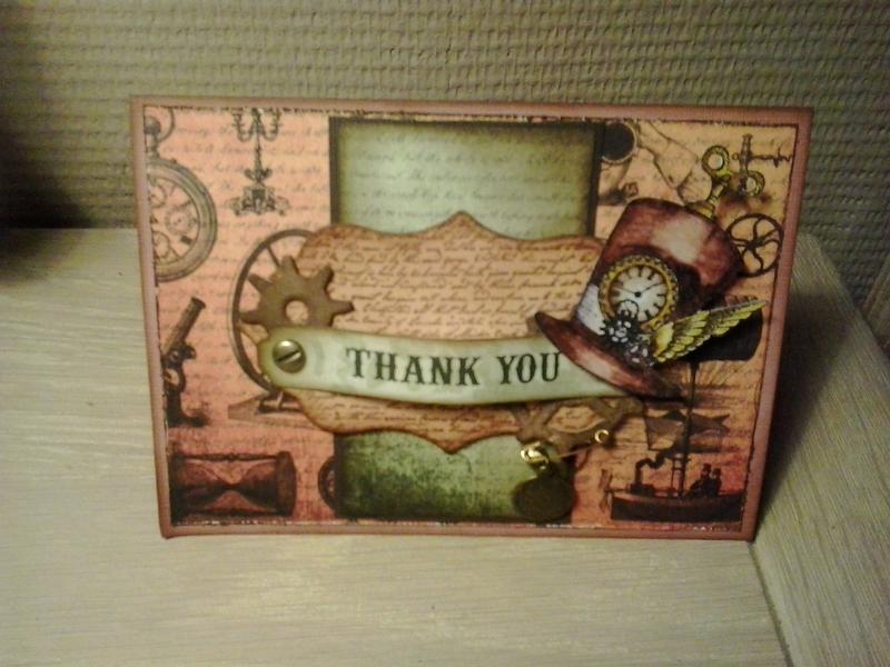 chronology steampunk card