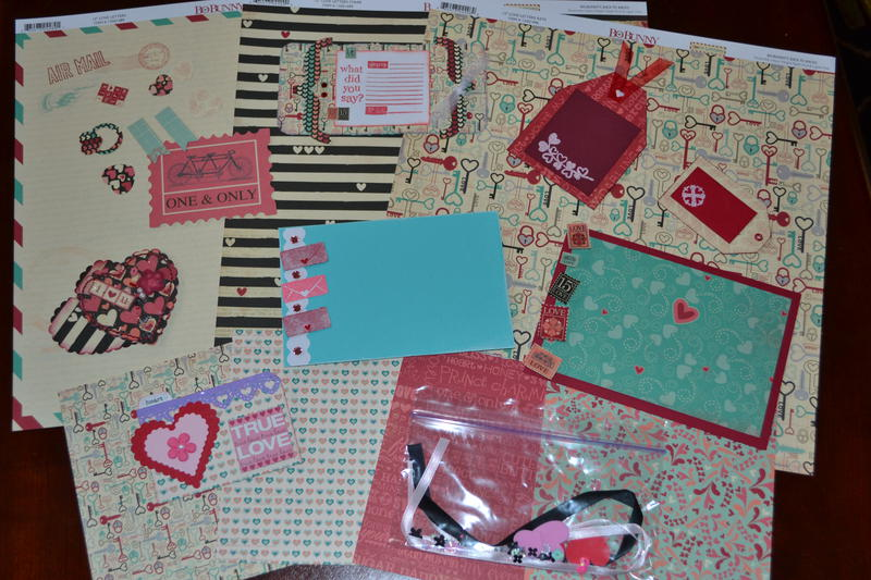 Bo Bunny Love Letters Kit