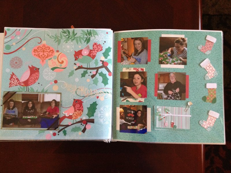 Berry Melody layout Pgs 1-2