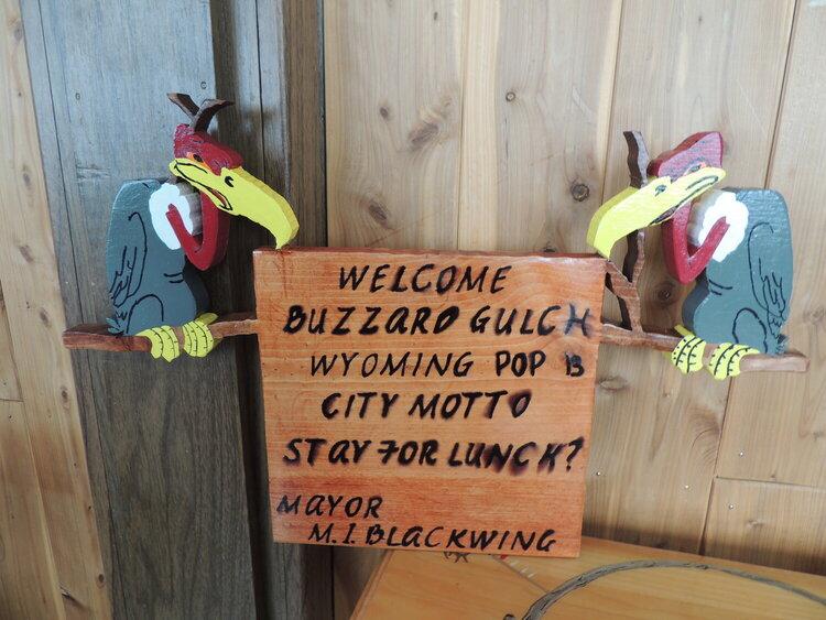 Welcome to Buzzard Gulch