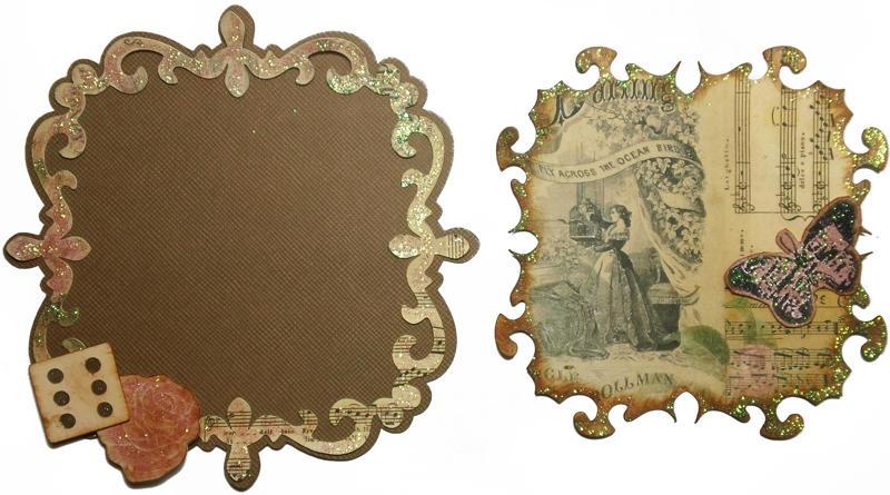Photo Frame and Mat for C'est La Vie Kit Swap