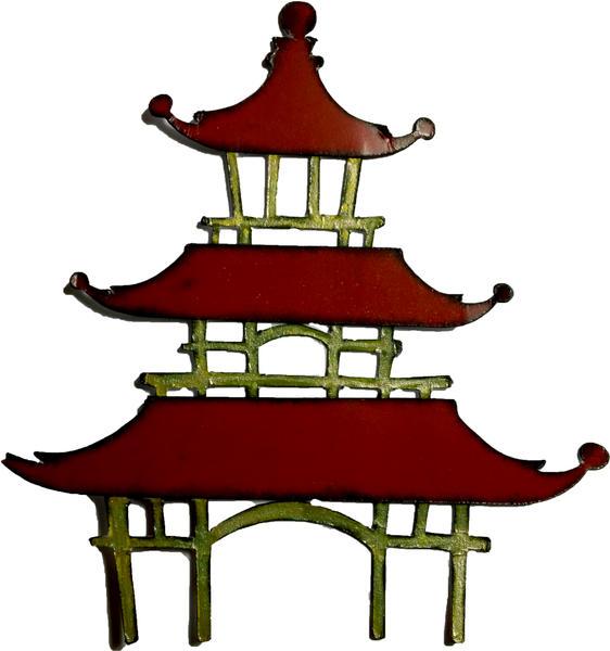 Pagoda Die Cut for Swap