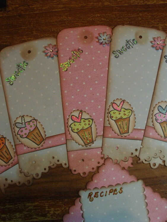 Embellishment Swap with cutencrafty - Cooking in the Kitchen