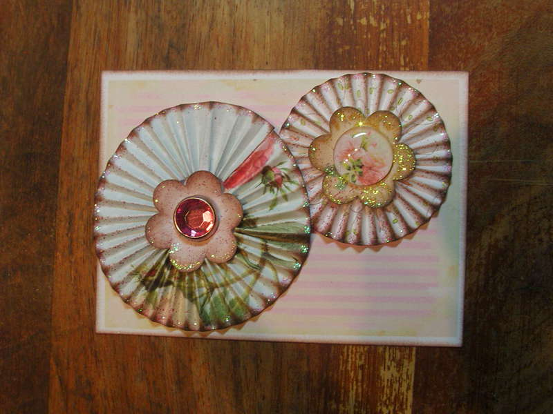 Some Embellishments I have made for myself or to sell - Rosettes