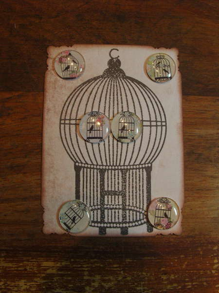 Some Embellishments I have made for myself or to sell - Birdcage