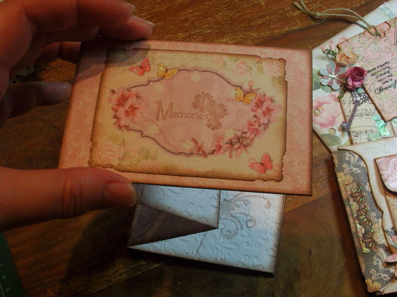 Some Embellishments I have made for myself or to sell - Mini Accordion Album