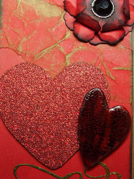 Valentine's Day Tag with Stopnstare07 - Tag 2 - Close up of heart detail