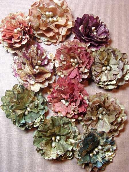Mystery Swap #46 - Paper Bag Flowers