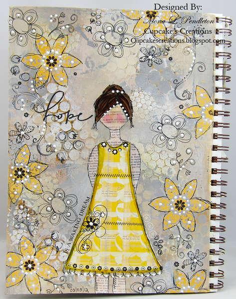 hope...an art journal page