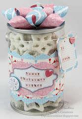 Pretzel treat bucket