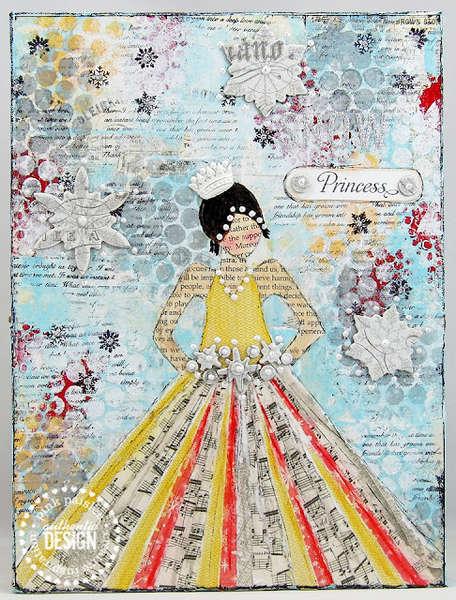Snow Princess canvas